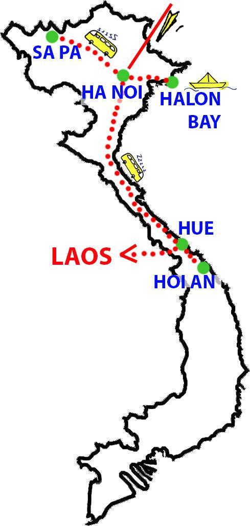 recorridovietnam
