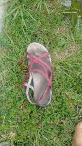 Figura 4. Mi sandalia la mañana de Reyes